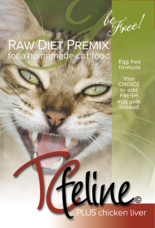 Tcfeline plus chicken liver a homemade raw cat food diet premix description forumfinder Image collections